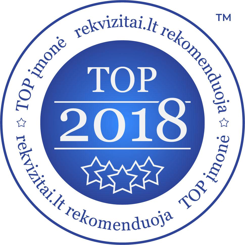 TOP imone 2018